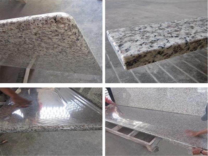 made in china tiger skin white granite countertop