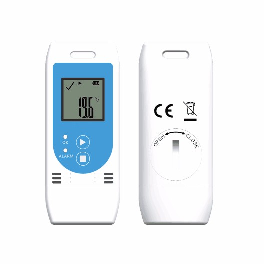 made in china Temperature humidity data logger with LCD display EN12830 Comply