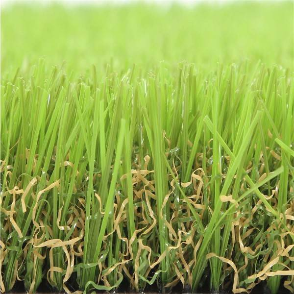 colorful artificial grass fence