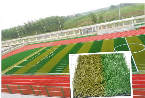 artificial grass football ball