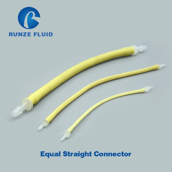 At Discount Barbed PP Plastic Tube Connector,FDA hose fittings