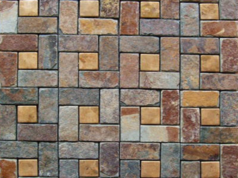 grey slate mosaic wall tiles