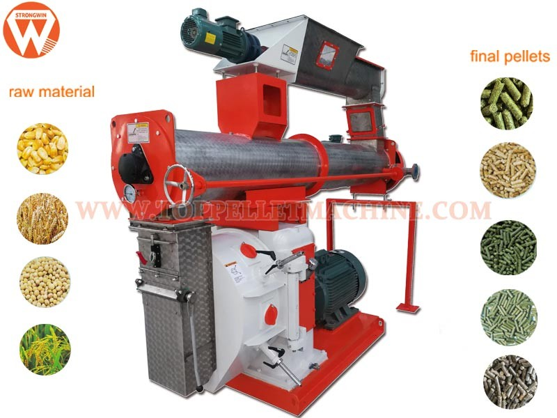Feed Pellet Machine small