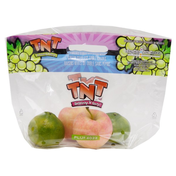 china Fast Delivery fruit plastic packaging bags