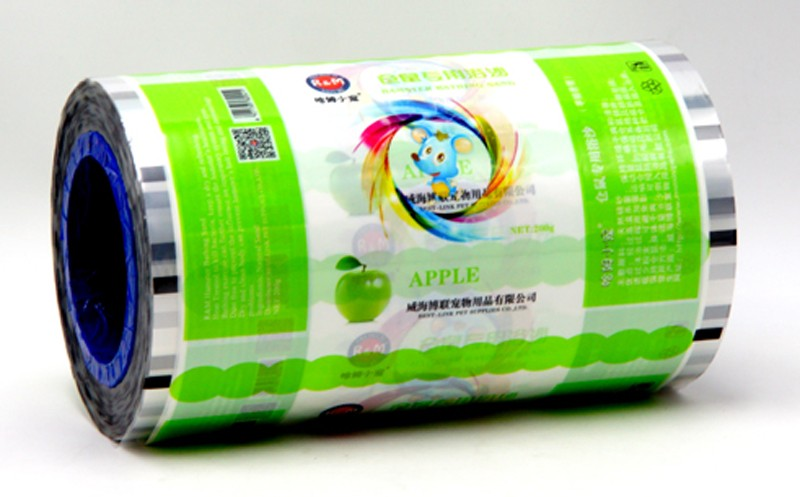 china roll film for pet bath sand Made in China