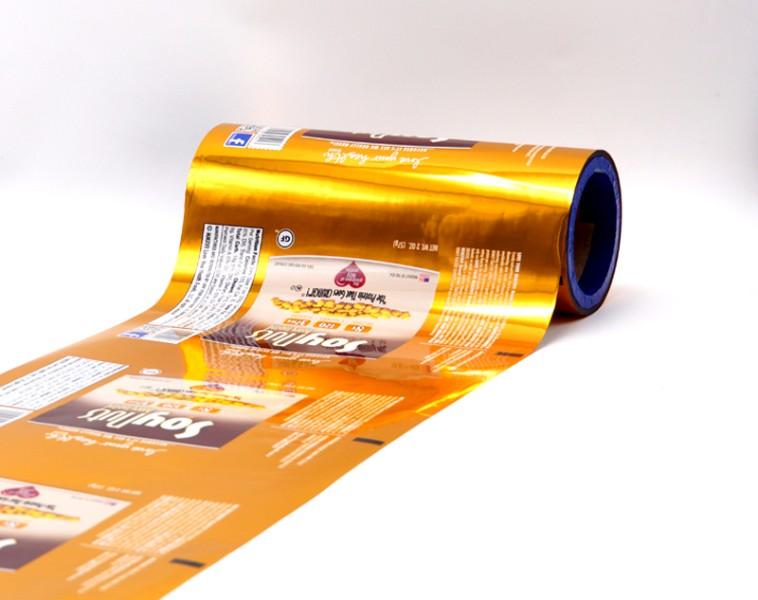 nut packaging roll film Top Value