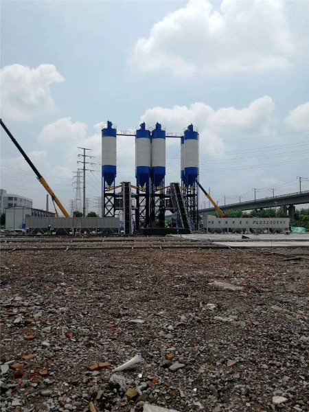 HZS75 concrete mixing plant Best Selling