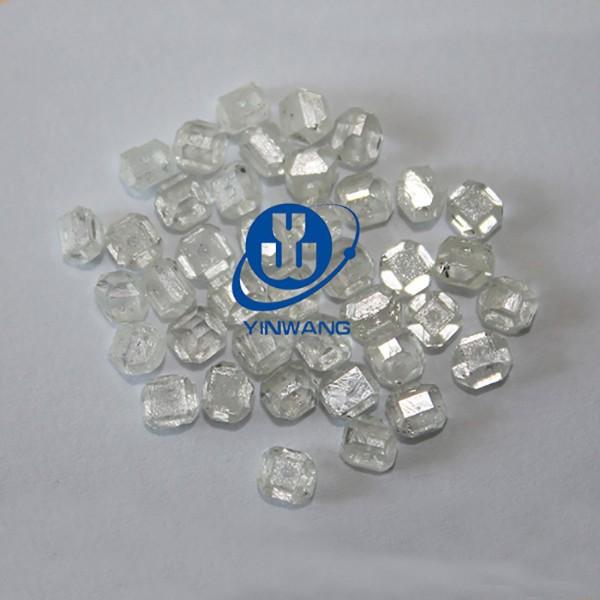 white synthetic diamond