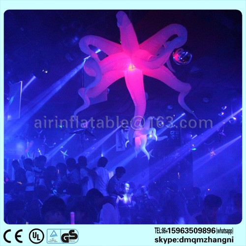 Inflatable star with led light Top Quality
