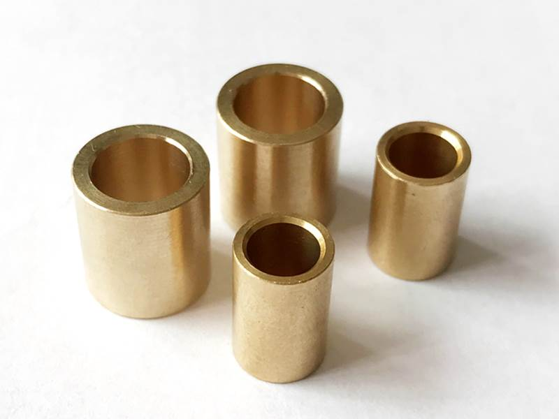 How to distinguish brass from pure copper by chemical method?