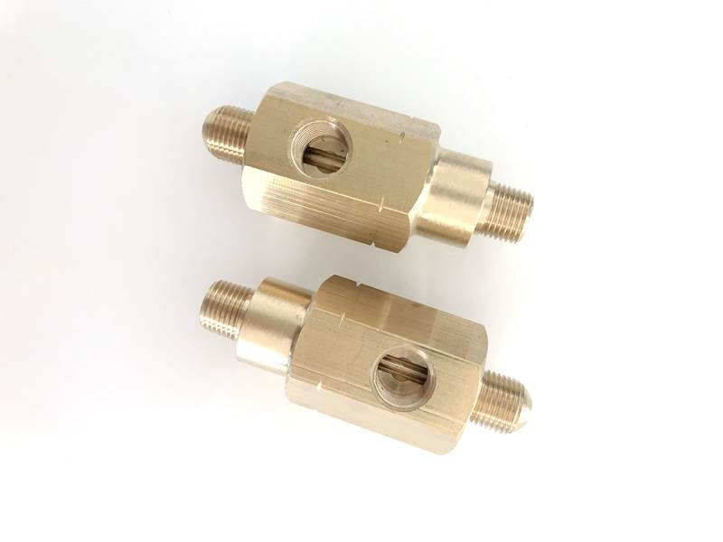 brass fitting for gas, Non-standard product, customized design OEM