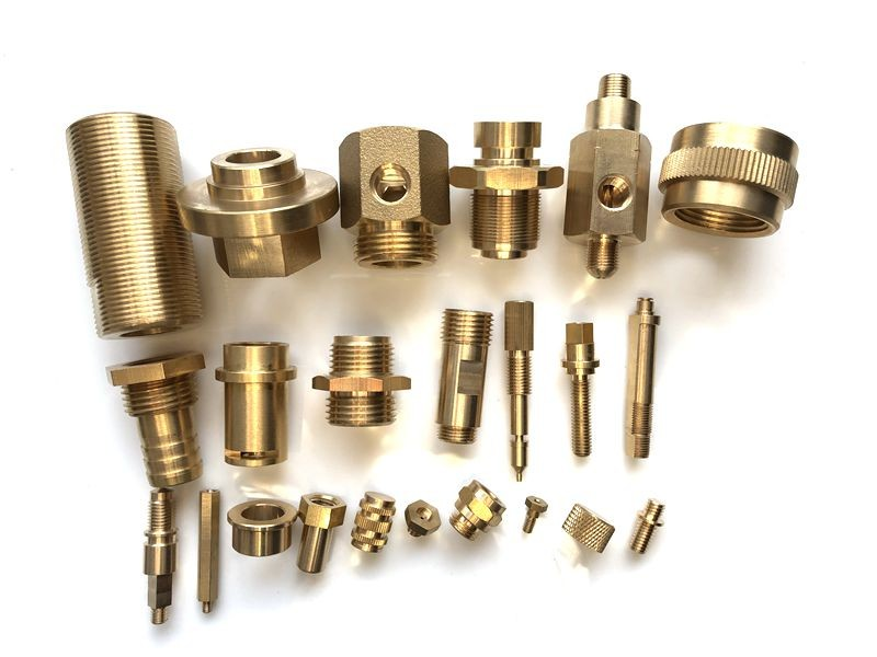Direct selling threaded brass fitting in Chinese factory