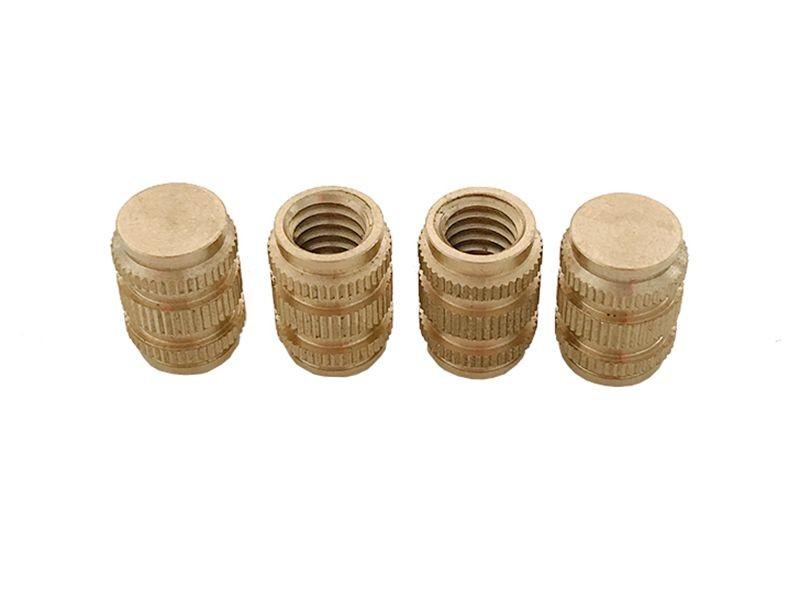Brass insert nut, factory price, non-standard customization