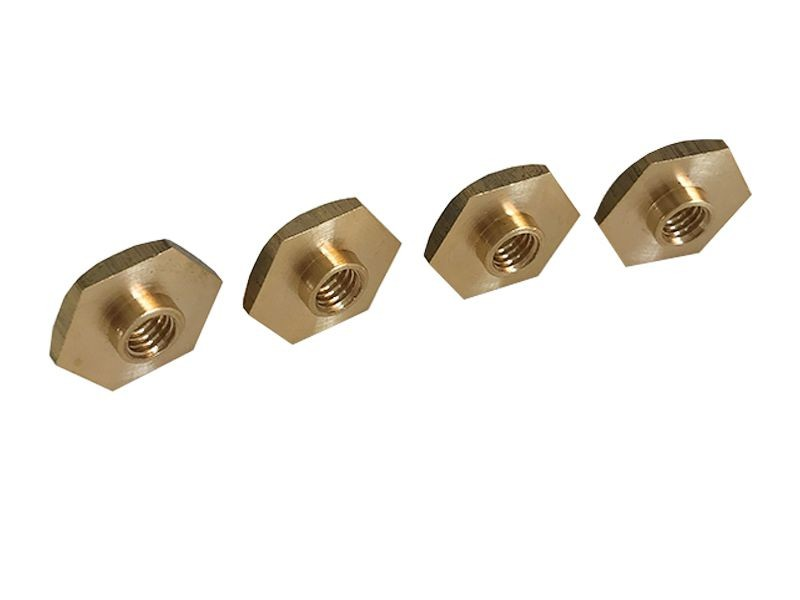 Characteristics of brass hexagonal nuts