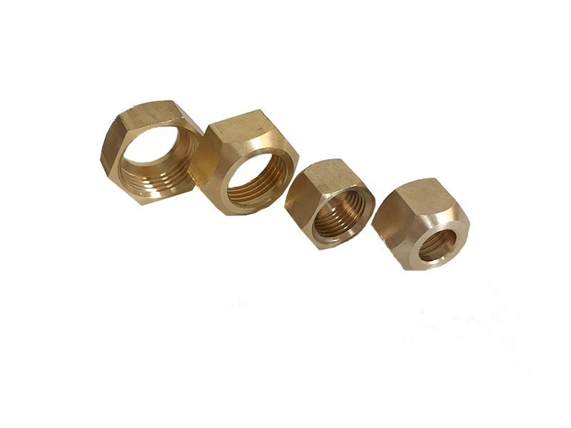 Customized brass hex nut, Chinese factory, reasonable price