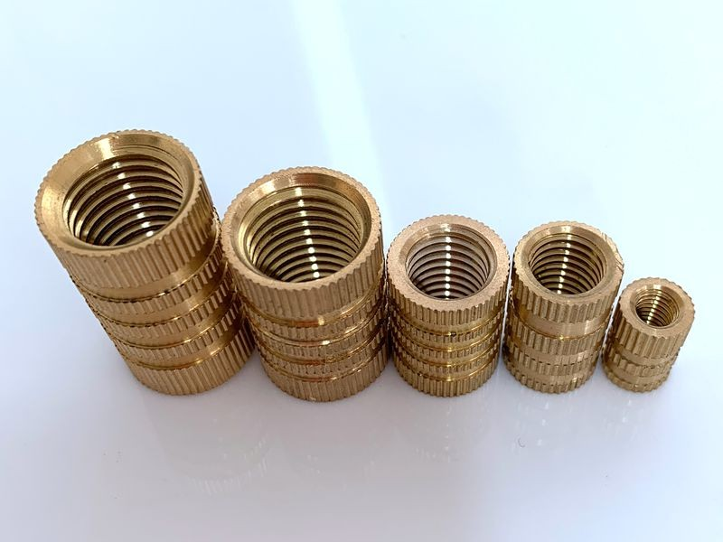 brass insert nut for plastic Chinese factory
