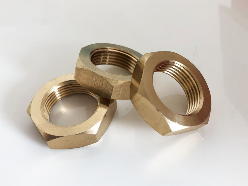 What material is the copper nut made of
