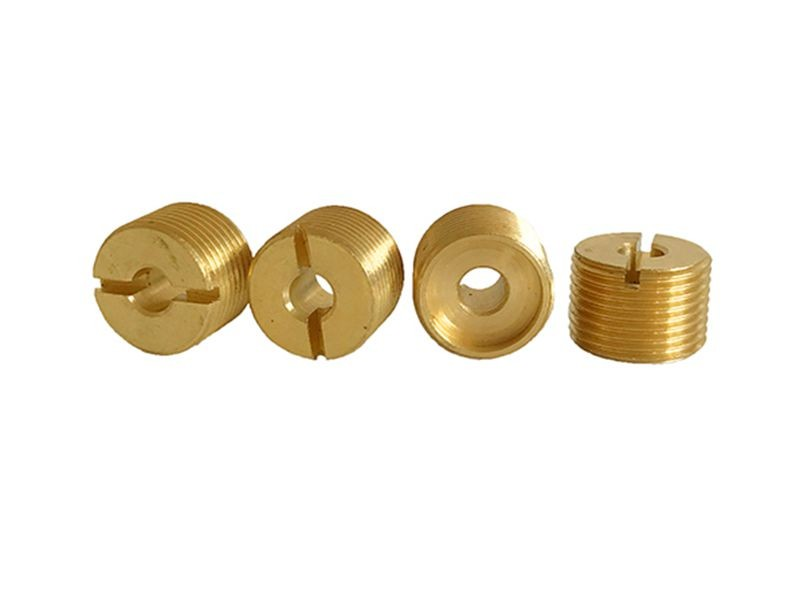 Why are nuts made of copper in screw rods