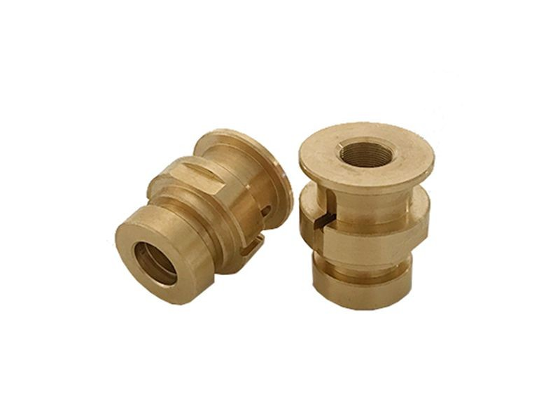 non-standard brass  turning part  chinese factory