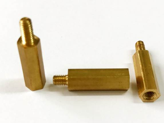 non-standard brass spacer , customized design, China supplier