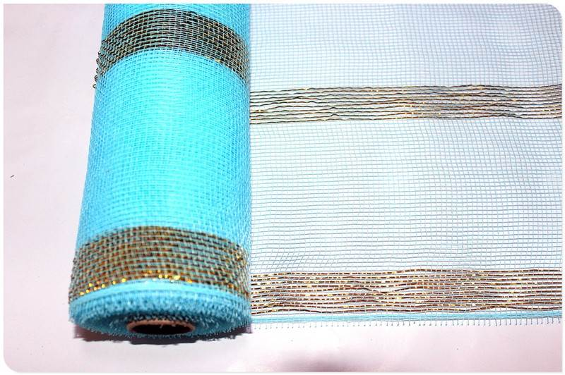 Wholesale Price Group metallic wreath mesh rolls