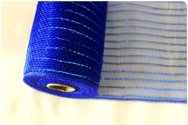 OEM Gold metallic decorative mesh rolls