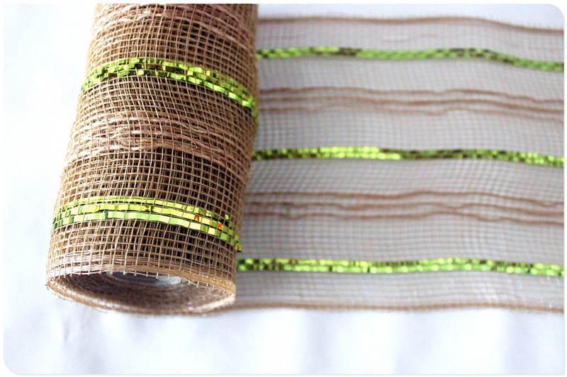 deco mesh burlap wreath tutorial