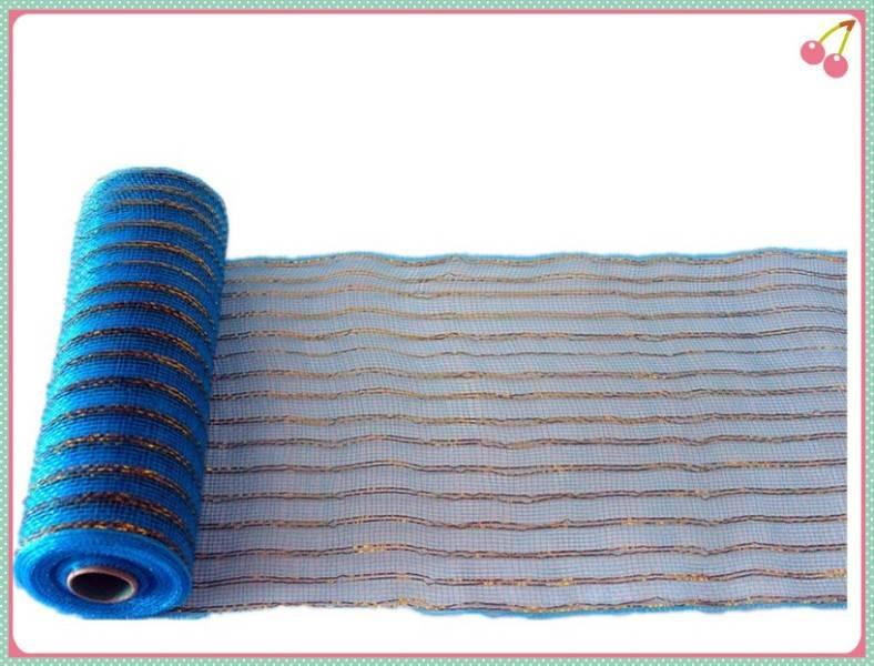 Fine Quality christmas deco mesh rolls supplier