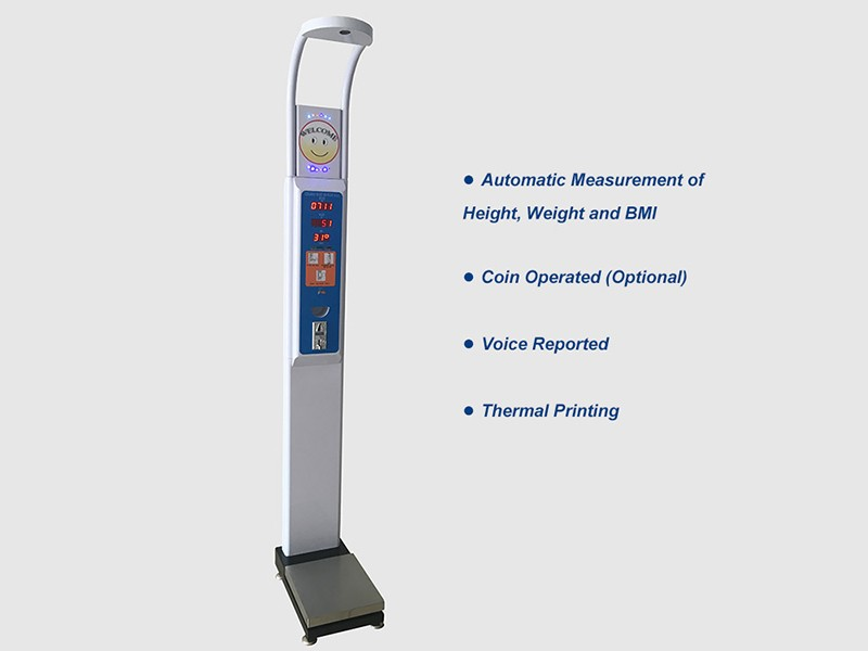 ultrasonic  height and weight scale