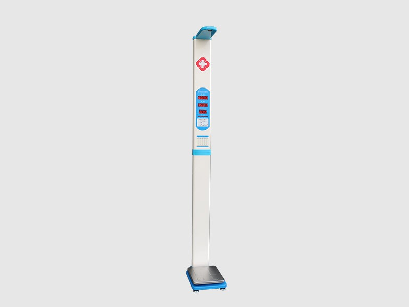 ultrasonic height weight bmi scale machine health check-up machine