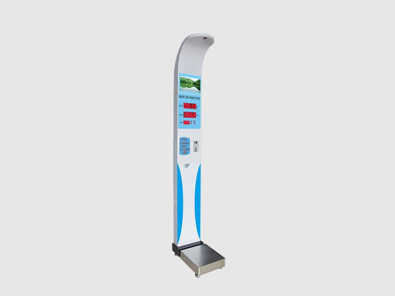 coin operated body height weight bmi scale