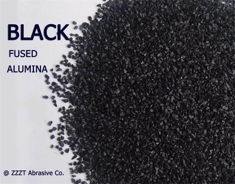 Utilizado para cortar discos Alúmina fundida negra