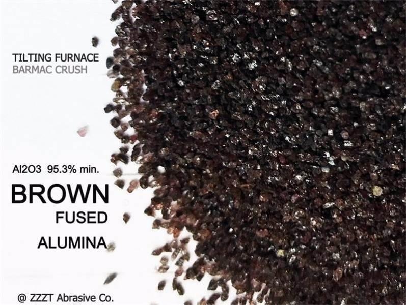 china BROWN FUSED ALUMINA